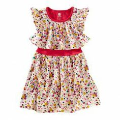 Tea Collection Confetti Tile Swing Dress