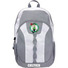 NBA Boston Celtics Voltage Women's Backpack, Gray