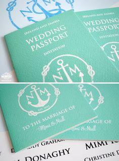 passport themed wedding invitation http://www.wedfest.co/passport-wedding-invitations/
