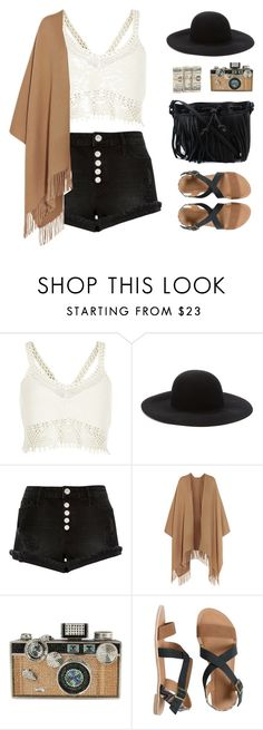 """Coachella"" by sweetpastelady ❤ liked on Polyvore featuring River Island, Forever 21, Acne Studios, Judith Leiber, IPANEMA and Rebecca Minkoff"