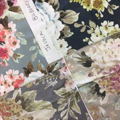 Floral Strike offs in the Warwick studio Warwick Fabrics, Courtyard House, Roman Blinds, Chairs, Textiles, Studio, Floral, Inspiration, Beautiful
