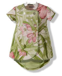 Vestido floral con braguita