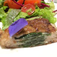 #ミルフィーユ#豚バラ肉#エゴマ#サラダ#野菜#オリーブオイル#豚肉#肉#自作#おうちごはん#男料理#millefeuille#porkbackribs#egoma#salad#oliveoil#vegetables#pork#meat#homemade#good#instafood#gourmet#delicious#love#mancooking#food#foodie#foodporn#foodgasm