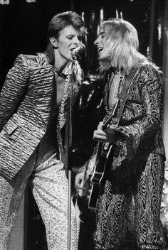 David Bowie, Trixie And Katya, Mick Ronson, Jean Genie, Aladdin Sane, The Thin White Duke, Ziggy Stardust, Glam Rock, Pop Group