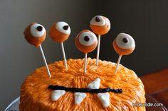 Monster Birthday Cake! WHAT?!