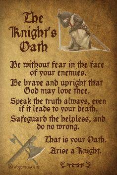 The Knight's Oath ⚔️
