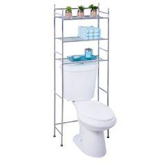 Chrome 3-tier Bathroom Space Saver