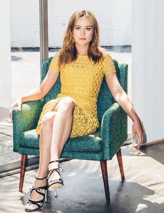 Brie Larson, DuJour.com