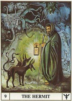 ansata tarot the hermit