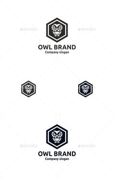 Buy Owl Brand by on GraphicRiver. OWL BRAND Professional logo template for all creative business company. The set includes: vector source files (AI and. Logo Design Template, Logo Templates, Creative Icon, Creative Business, Owl Logo, Bird Logos, Business Company, Geometric Logo, Information Graphics