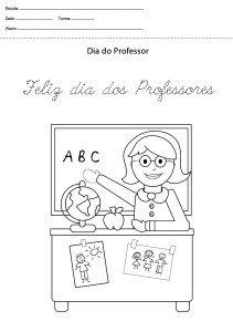 40 Atividades Para O Dia Do Professor Para Imprimir Educacao Infantil Online Cursos Gratuitos Em 2020 Dia Dos Professores Educacao Infantil Oracao Do Professor