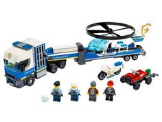 Police Helicopter Transport 60244   City   Buy online at the Official LEGO® Shop CA Lego City Police Sets, Lego City Police Helicopter, Fun Police, Lego City Sets, Building Sets For Kids, Building Toys, Bateau Lego, Quad, Lego Mini
