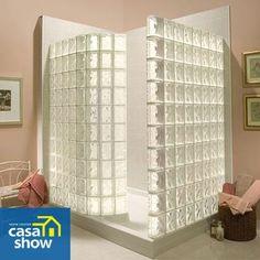 Já pensou em decorar um cantinho da sua casa com blocos de vidro e não sabe como?     Confira dicas e ideias no blog: http://blog.casashow.com.br/decoracao-com-blocos-de-vidro/