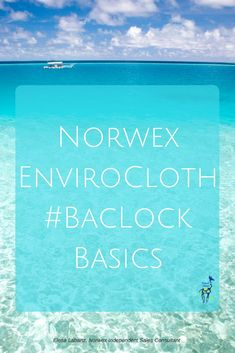 Learn all you need to know about Norwex's unique Microfiber and BacLock. #nomadmanor #norwex #norwexproducts #ecofriendly #microfiber