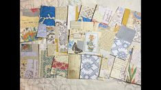 Craft with me   use your scraps   making super fast masterboards Glue Book, Book Pages, Junk Journal, Art Journaling, Mixed Media Art, Roxy, Ephemera, Collages, Embellishments
