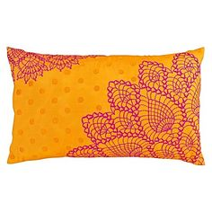 Captivating warmth exudes from the colour palette and creative embroidery of the Thar Cushion Cover from Cornermill.