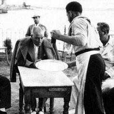 Mubadele zamanlari koy ziyaretinde Atam