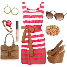 such a cute outfit for summer, I require flats but oh so cute! hook Ginger up!