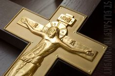 A handmade sanctuary cross.    Made from fine wood using filigree technique. Gold-plated. Encrusted with gemstones.    Learn more here: https://catalog.obitel-minsk.com/sanctuary-cross-c-bcr-07.html     #orthodox #orthodoxy #orthodoxchurch #cross #orthodoxcross #handmade #churchgoods #churchitems #CatalogOfGoodDeeds