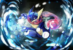 Pokemon : Greninja by revanche7th.deviantart.com on @deviantART