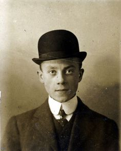 27334fa91d7 Unknown man in bowler English Gentleman