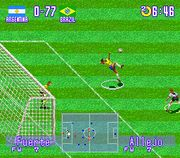 Allejo, the best soccer player of all history - International Superstar Soccer (SNES)