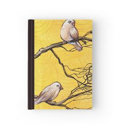 'Early Bird Banter' Hardcover Journal by Cherie Roe Dirksen Drawing Sketches, Drawings, School Accessories, Print Store, Illustrators, Fine Art Prints, Great Gifts, Christmas Gifts, Designers