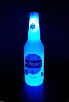 011efc8f4f Man Cave Neon Sign, Dr Pepper, Bottle Lights, Glass Bottles, Soda,