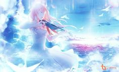 Shigatsu wa kimi no uso - Kaori Miyazono Kuroko, Miyazono Kaori, Your Lie In April, Fan Anime, A Silent Voice, Anime Angel, Anime Art Girl, Anime Girls, You Lied