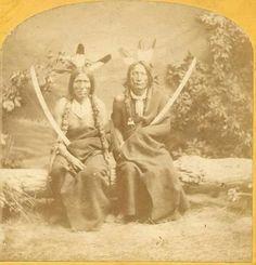 LOST MEDICINE AND BLACK HORN. ..1872...