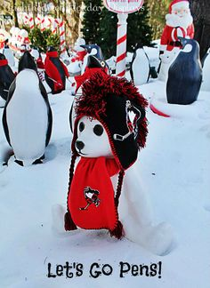 Little Penguins fan...