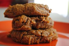 Flourless Pumpkin Pie Cookies (Grain-Free, Refined Sugar-Free, Vegan)