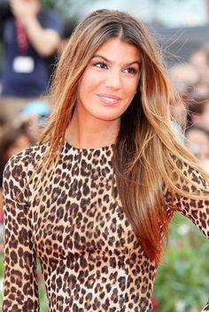 Bianca Brandolini...Love this hair color!