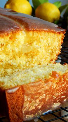 Lemon Dessert Recipes, Pound Cake Recipes, Apple Recipes, Sweet Recipes, Delicious Desserts, Bakery Recipes, Cooking Recipes, Food Cakes, Cupcake Cakes