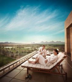 Cloud Nine Views at the retreat at the Luxurious Talking Stick Resort