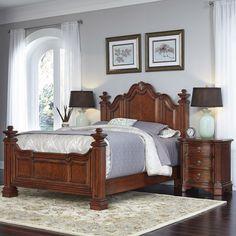 Santiago Panel 3 Piece Bedroom Set