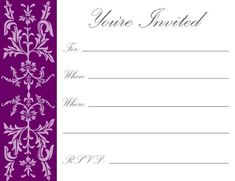 Free Birthday Invitation Maker Online Check More At Cardpedia