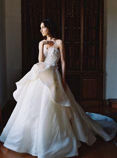 Dahlia: Sareh Nouri – New York Spring 2017 Bridal Collection. www.theweddingnotebook.com