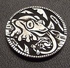 "Hobo nickel ""Forest Frog"" by Shane Hunter"