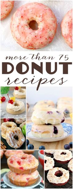 more than 75 DONUT recipes!