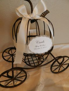 Fairy Tale Carriage Wedding Gift Card Holder : Wedding Card Holders on Pinterest Gift Card Holders, Wedding Card ...