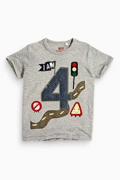 Buy I Am Age Vehicles T-Shirt (1-6yrs) online today at Next: United States of America