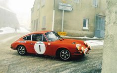 Porsche 911 Rallye Monte Carlo Historique