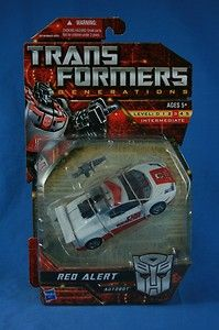 Transformers Generations RED ALERT Deluxe MOSC 2010 (Sold)