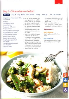 Recipes from Cambridge Weight Plan. Diet Recipes, Cooking Recipes, Healthy Recipes, Healthy Foods, Cambridge Diet Plan, Cambridge Ielts, Cambridge Igcse, Chinese Lemon Chicken, 400 Calorie Meals
