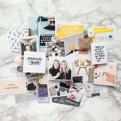 Last week we sat down with some friends and created vision boards for 2017. We set for two hours and intentionally thought about what we wanted 2017 to look like for ourselves and our business. Then we found things that represented that and smacked it on a board to look at it every day. Talk about taking affirmations to a whole new level. But we know that these things can only actually come true with a plan. With action steps. With due dates. With strategic thinking about how to make them…