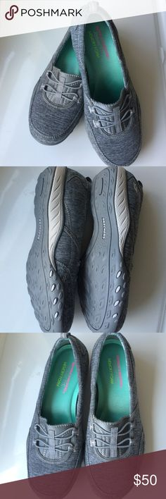 Skechers Memory Foam gray shoes Relaxed fit, never worn, very comfortable Skechers Shoes Sneakers