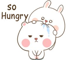 TuaGom : Puffy Bear & Rabbit by Tora Jung Cute Bunny Cartoon, Cute Kawaii Animals, Cute Cartoon Pictures, Cute Love Cartoons, Bear Cartoon, Cute Drawings Of Love, Cute Bear Drawings, Art Drawings, Cute Chibi Couple