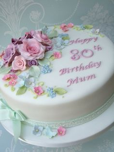 Pretty Birthday Cakes For Women - Bing Images                              …