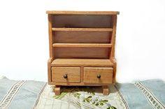 Miniature Dol-Toi Welsh Dresser Sideboard Buffet by autena on Etsy